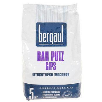 Штукатурка гипсовая Bergauf Bau Putz Gips 5 кг