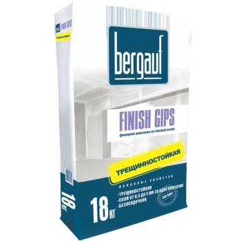 Шпатлевка гипсовая финишная Bergauf Finish Gips 18 кг