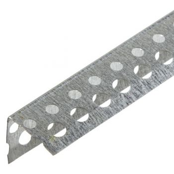 Уголок перфорированный оцинкованный 25*25 мм
